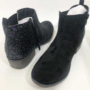 Sarah-Jayne | Adison | Black boots with glitter